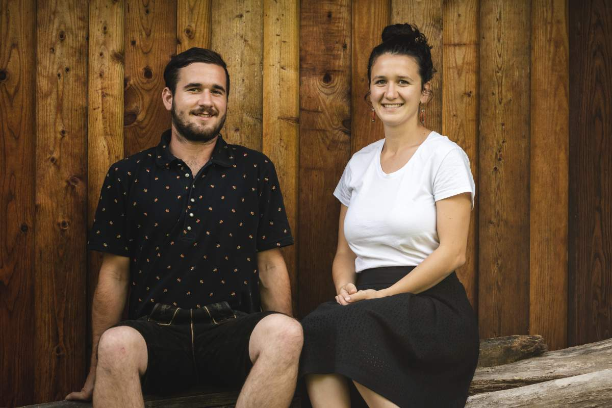 Lukas und Magdalena Schmallegger